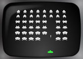 Space Invaders — Stock Photo