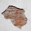 Wall in poor condition — Stock Photo