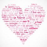 Heart I love you — Stock Vector