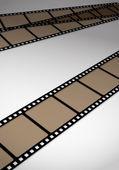 Film-bänder — Stockvektor