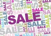 Sale words — Stock Vector