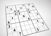 Sudoku — Stok Vektör