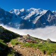 A beautiful view of the french alps — Stock Photo #5273239