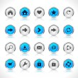 Royalty-Free Stock Vector Image: Buttons for web