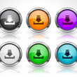Buttons for web. Vector. - Image vectorielle