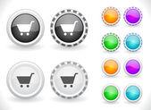 Botões para web. vector. — Vetorial Stock