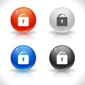 Botões para web. — Vetorial Stock