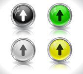 Botões para web. — Vetor de Stock