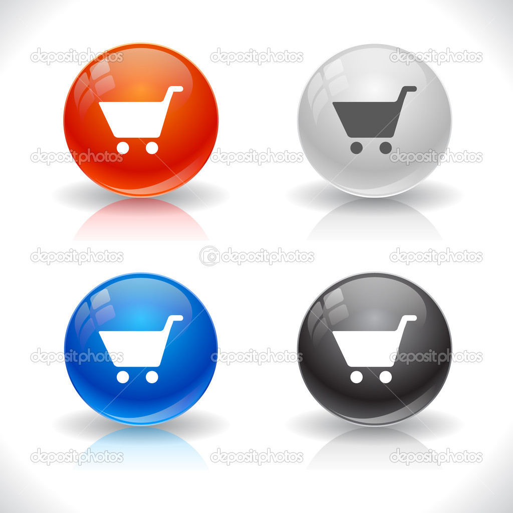 Buttons for web. Vector illustration. — Stock Vector #5322421