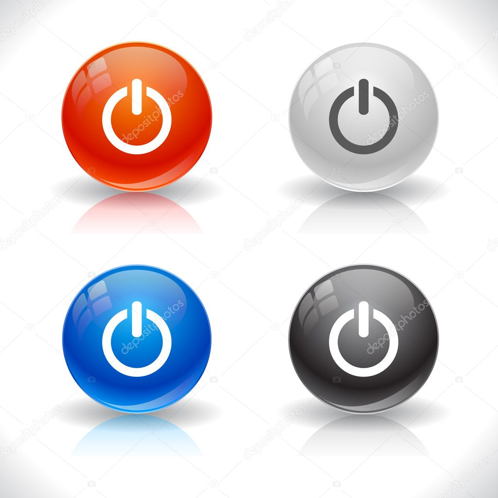 Buttons for web. Vector illustration. — Stock Vector #5322427