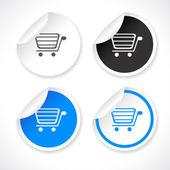 Etiketleri web için. vektör. — Stok Vektör
