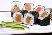 Sushy japonese — Stock Photo