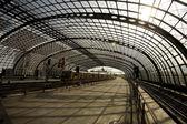 The Berlin underground — Stock Photo
