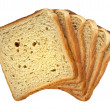Stock Photo: Cut bread