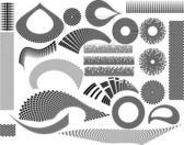 Elementi di design — Vettoriale Stock