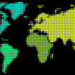 Stockvektor : World map