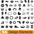 56 elementos de diseño — Vector de stock  #5209397