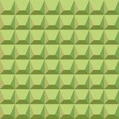 Pattern of green blocks — Stock Vector