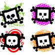 Cartoon skulls — Stock Vector #5251910