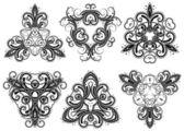 Fantasy ornaments 4 — Stock Vector