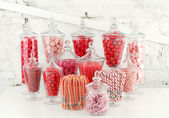 Candy bowls — Stock Photo