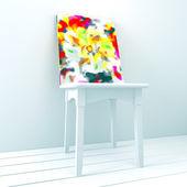 Abstrakt studio — Stockfoto