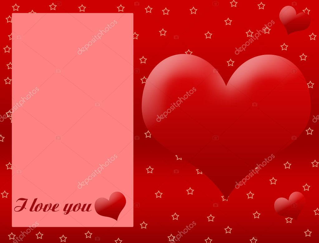 ABSTRACT ROMANTIC BACKGROUND FOR LOVE, WITH SPACE FOR YOUR TEXT — Stock Vector #5158675