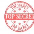 Stock Vector: Top secret stamp