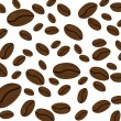 Royalty-Free Stock Vector Image: Coffee beans pattern