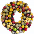 Stock Photo: Harvest Wreath