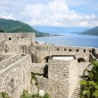 Panoramic of the fortress of old town Herceg Novi - Stock Photo