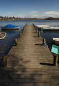 Dock For Boats — Stock Photo