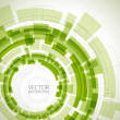 Royalty-Free Stock Vector Image: Abstract green technical background