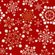 Royalty-Free Stock Vector Image: Red and golden christmas seamless pattern