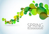 Spring Abstract floral background — Wektor stockowy