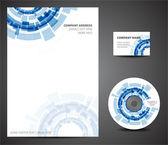 Design template set — Stock Vector