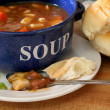 Vegetable Beef Soup — Stock Photo #5209689