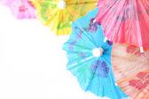 Cocktail Umbrellas — Stock Photo