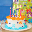 Birthday Cake — Stock Photo #5213860