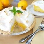 Lemon Meringue Pie — Stock Photo #5213879