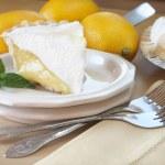 Slice of Lemon Pie — Stock Photo #5213888