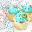 Party Cupcakes — Stock Photo