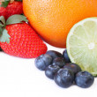 Mixture of Fruit — Stock Photo