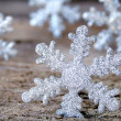 Foto Stock: Snow Flakes
