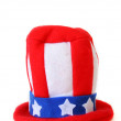 Patriotic Top Hat — Stock Photo