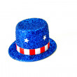 patriottico top hat — Foto Stock