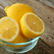 Bowl of Lemons — Stock Photo #5225115