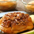 Apple Caramel Dessert — Stock Photo #5225174