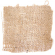 Stock Photo: Piece of Burlap