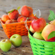Apples and Peaches — Stock Photo #5228650